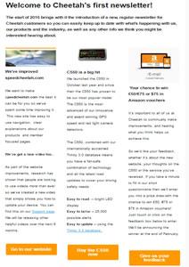 Cheetah newsletter 1